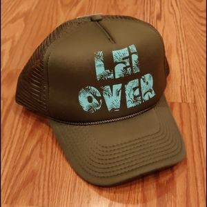 O'Neill Lei over hat